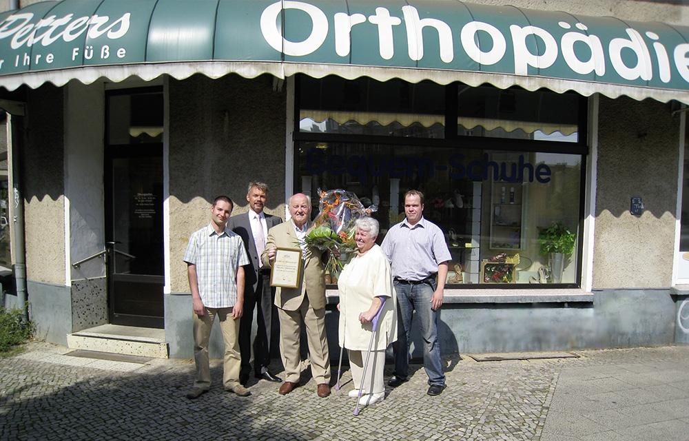 Orthopädische Schuhe und mehr finden Sie vor Ort in unserer Filiale in Berlin