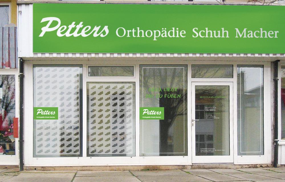 Orthopädische Schuhe und mehr finden Sie vor Ort in unserer Filiale in Gera