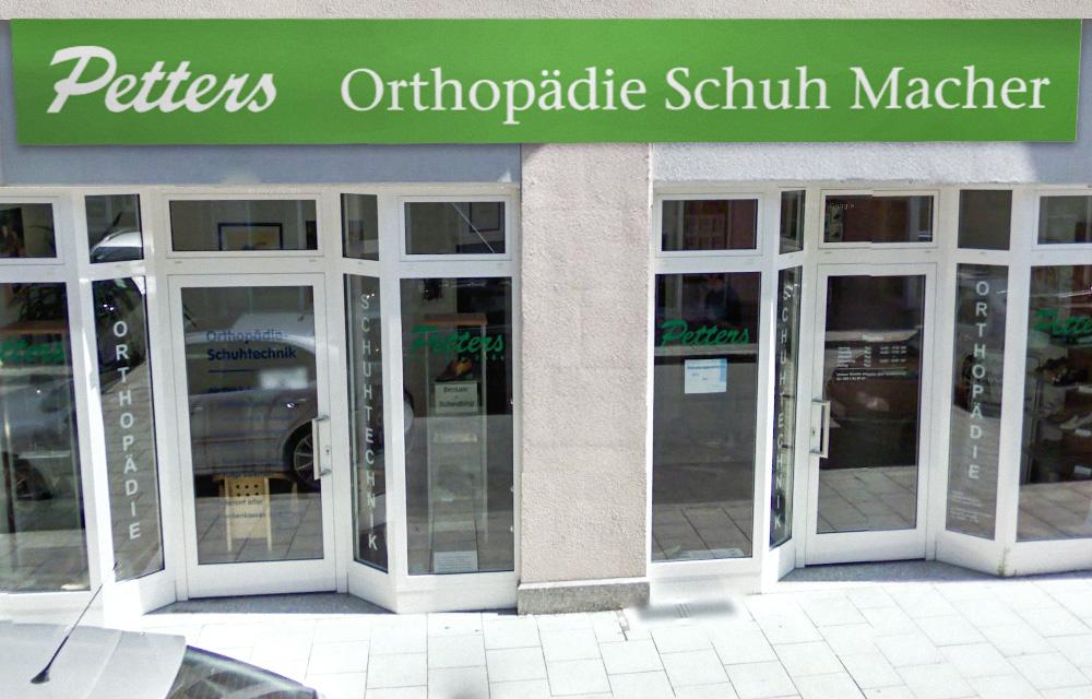 Orthopädische Schuhe und mehr finden Sie vor Ort in unserer Filiale in München